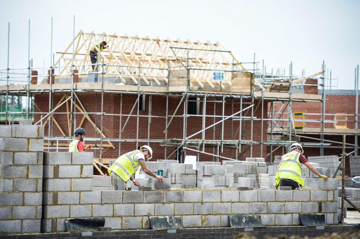 House-building-72200176-72500392 House prices outside Dublin to rise by up to 7pc, estate agents predict
